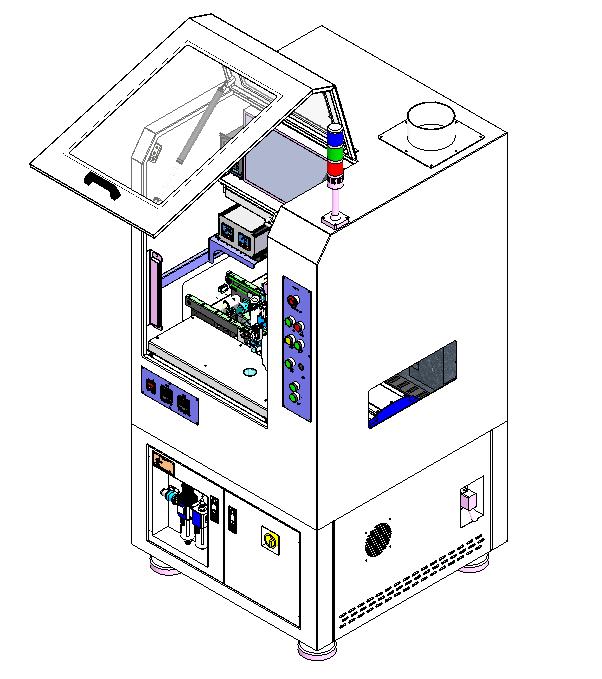 在线式智能高速加热点胶机(图1)